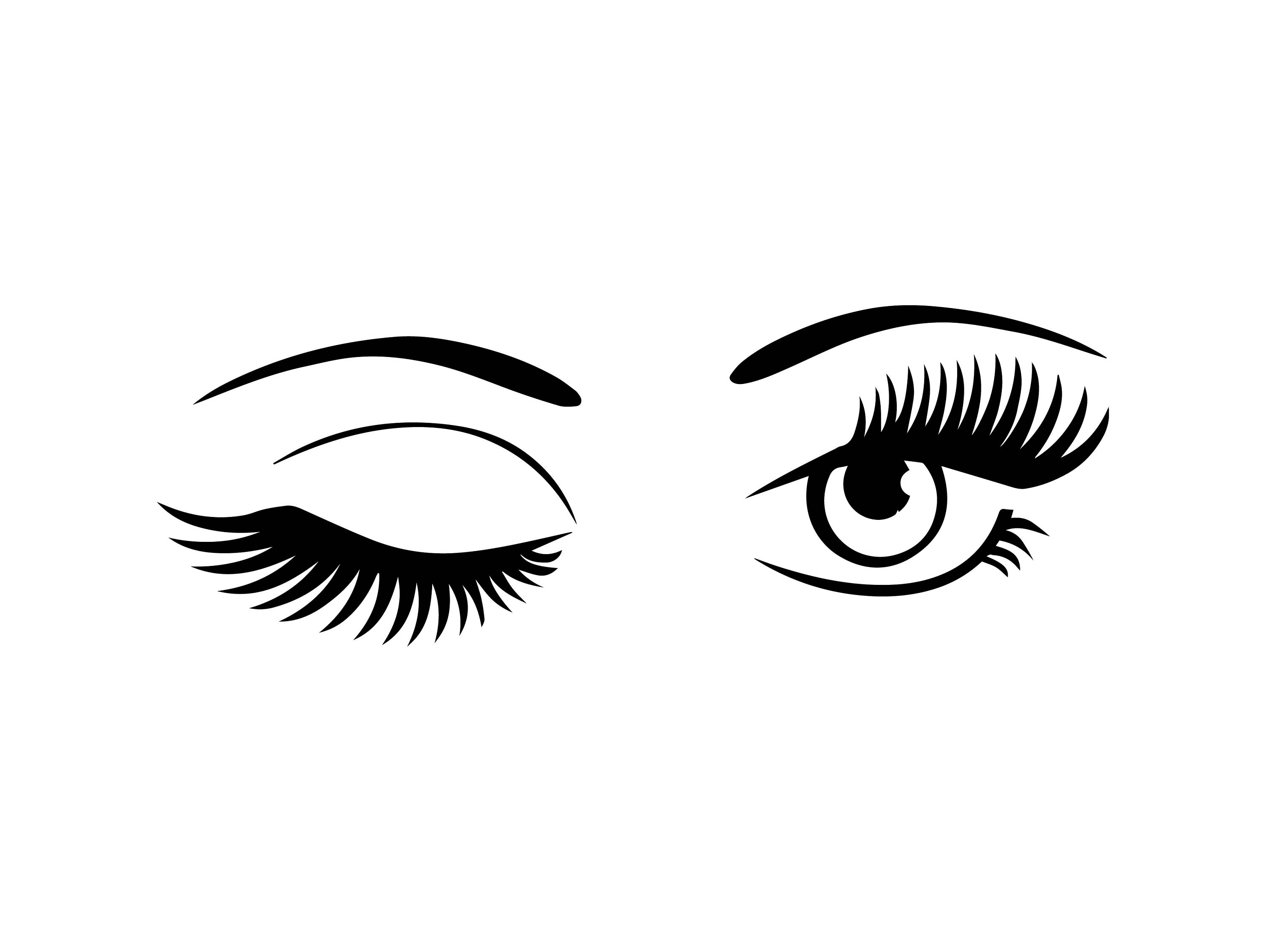 eyelash extension  yuk  sebelumnya perhatikan dulu Animated Winking Eyes Clip Art Winking Eye Drawing