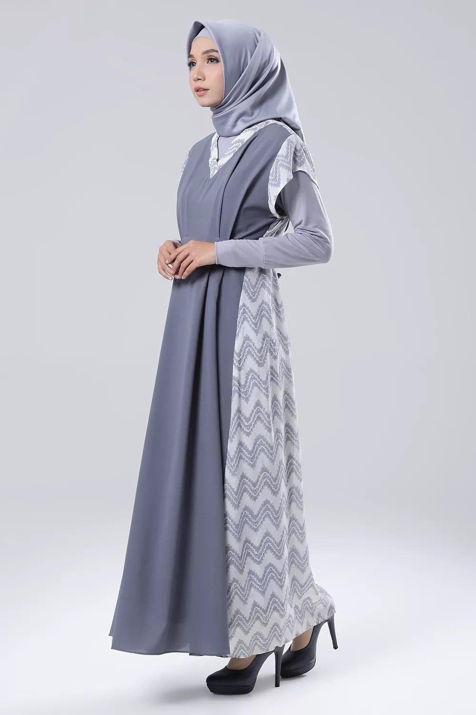 10+ Model Baju Batik Muslim, Modern, Kombinasi , Terbaru 10