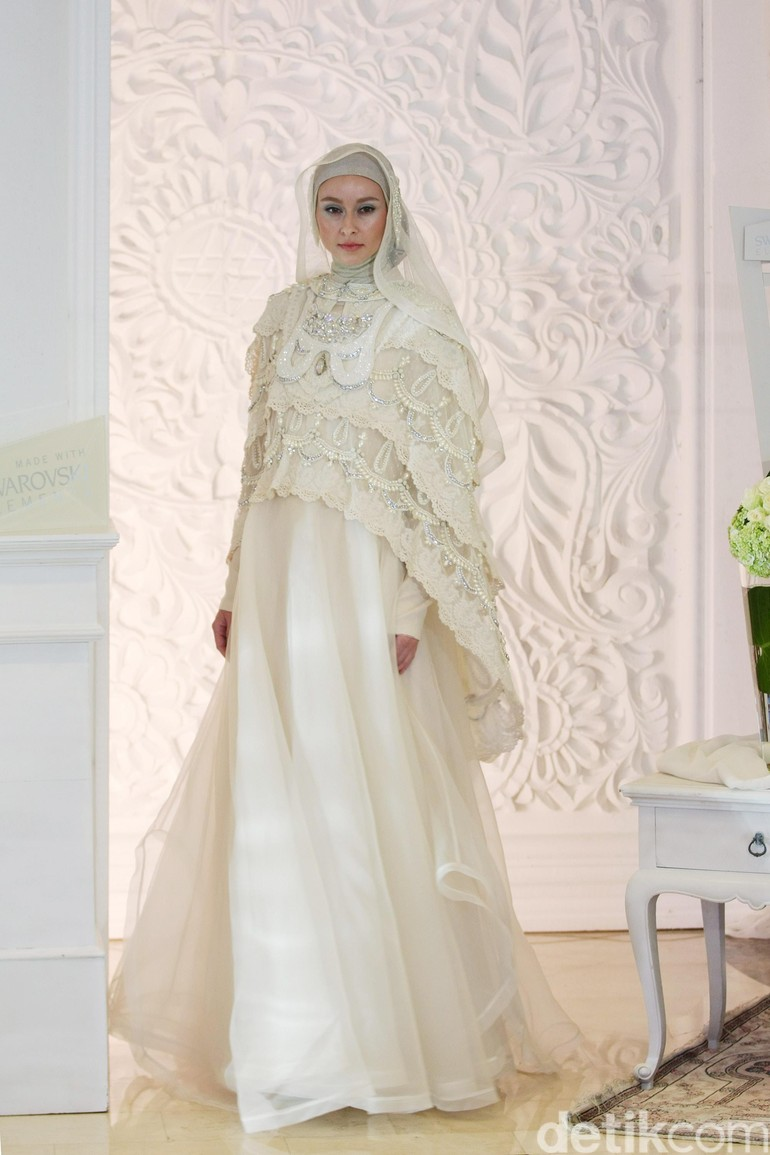 9+ Model Baju Pengantin Muslim Modern,Terbaru
