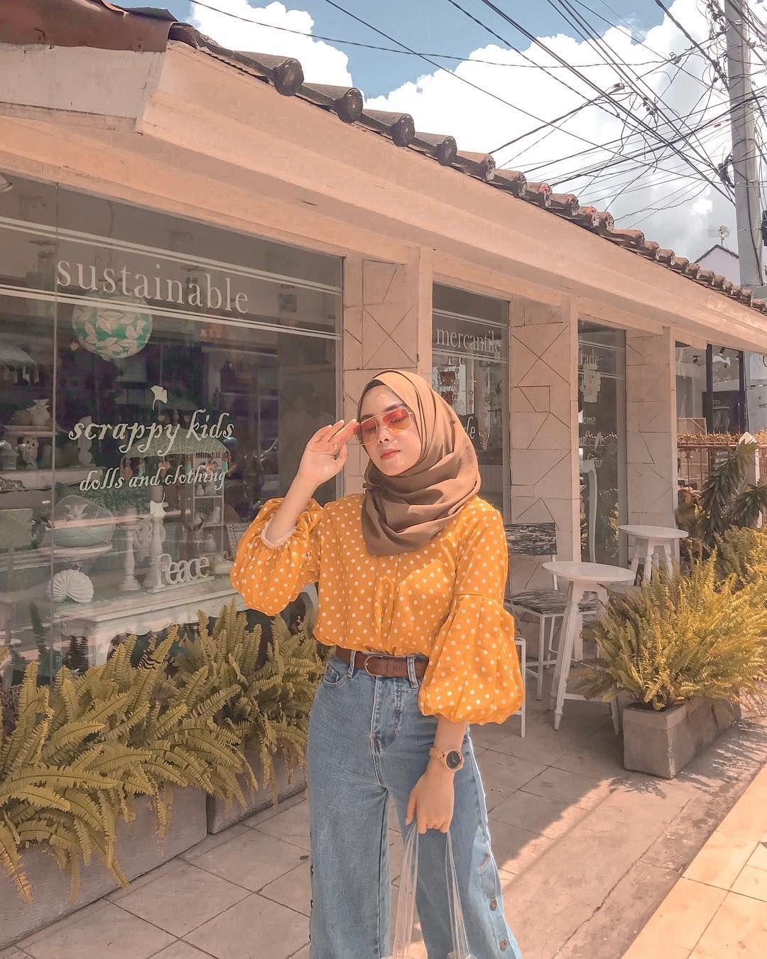 trend ootd hijab